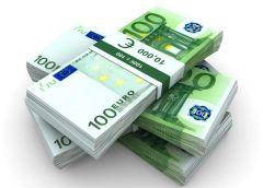 пачки евро